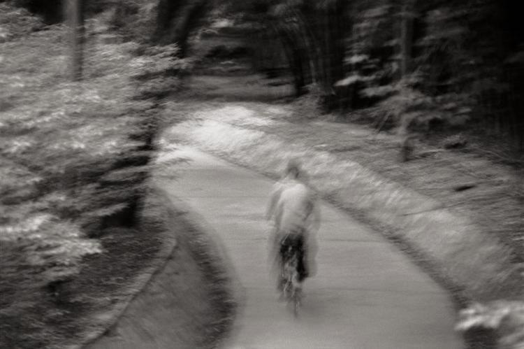 Cyclist, New Delhi 2004   Edition 3 of 10