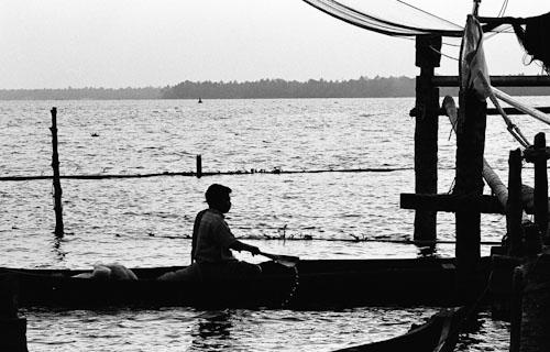 Boatman, Kerala 2008   Edition 5 of 5