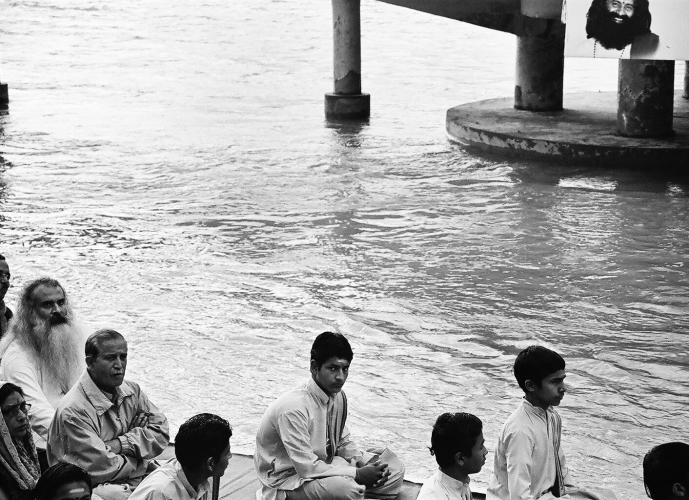Devotees on the River, Rishikesh 2011   Edition 1 of 2