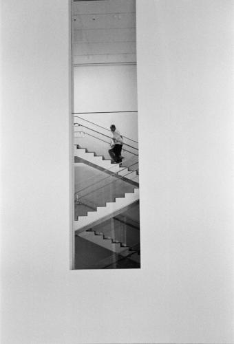 The Man on the Stairs, New York 2009   Edition 1 of 2