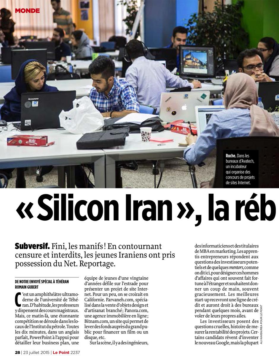 """""""Silicon Iran"""", la rébellion silencieuse"""
