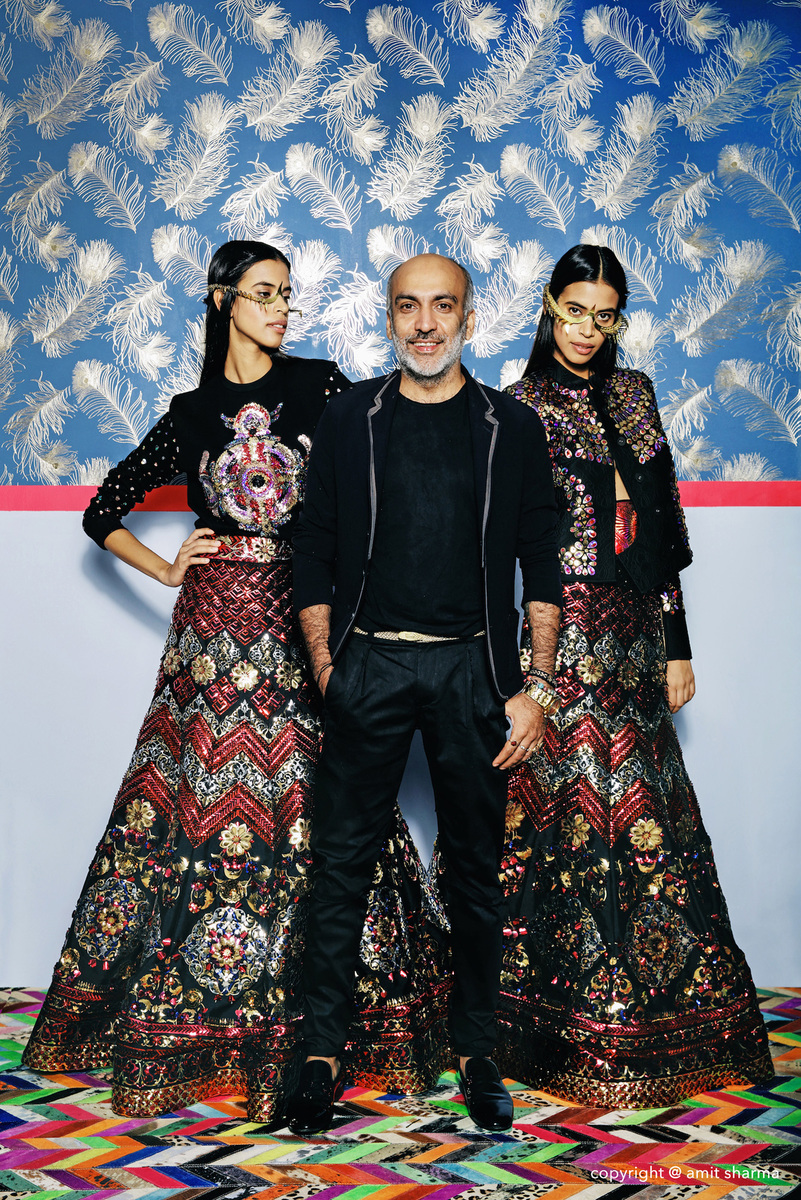 Manish Arora for Harpers Bride