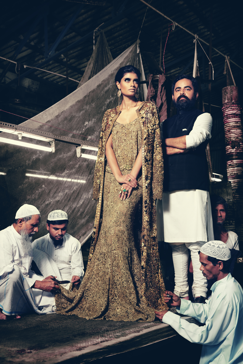 Sabyasachi for Harper's Bride