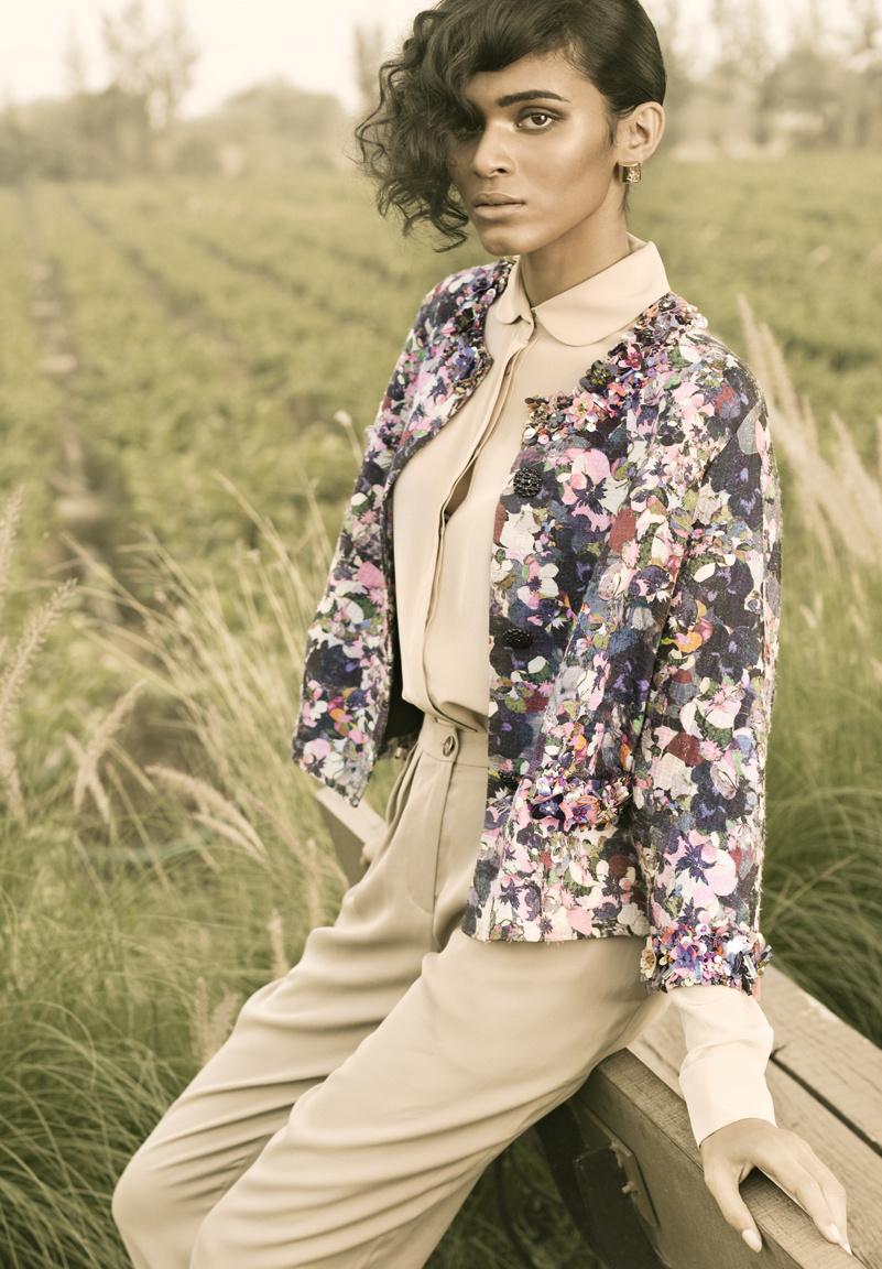 Radhika Nair for Harper's Bazaar.