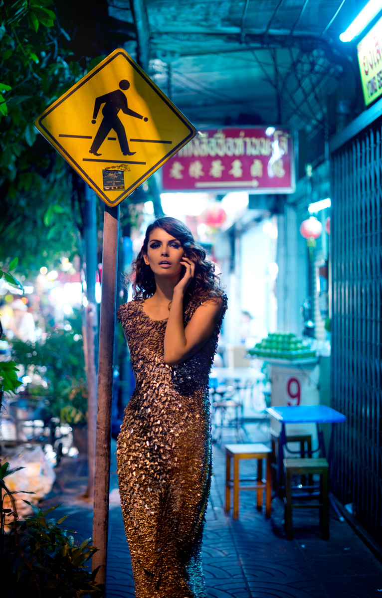Veena for Cosmopolitan. Photographed in Bangkok.