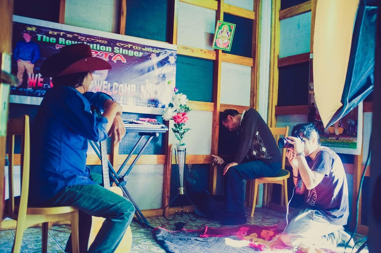 Manipur Singer Tapta for GQ