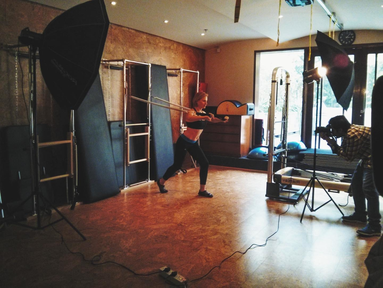 Photographing Vesna Jacob for GQ