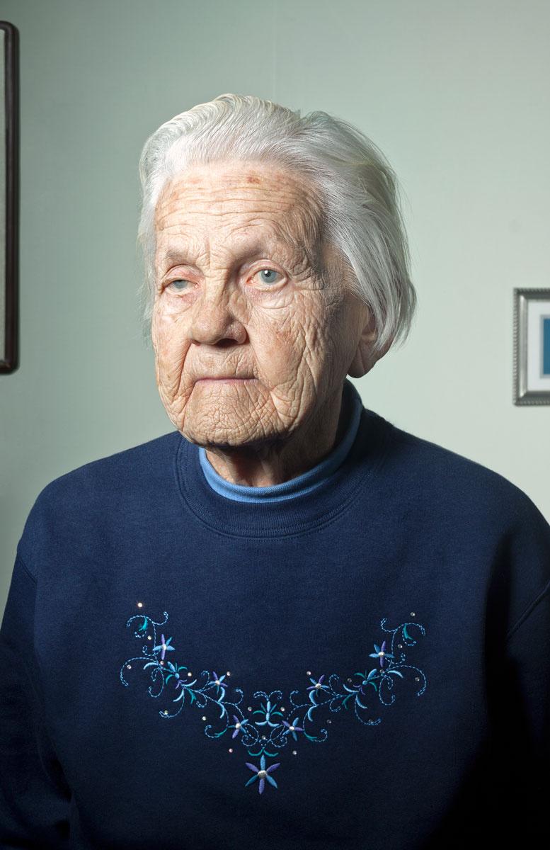 Elsie Erbentraut. Poplar, Wisconsin.