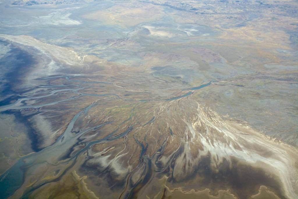 Lake Manyara aerial