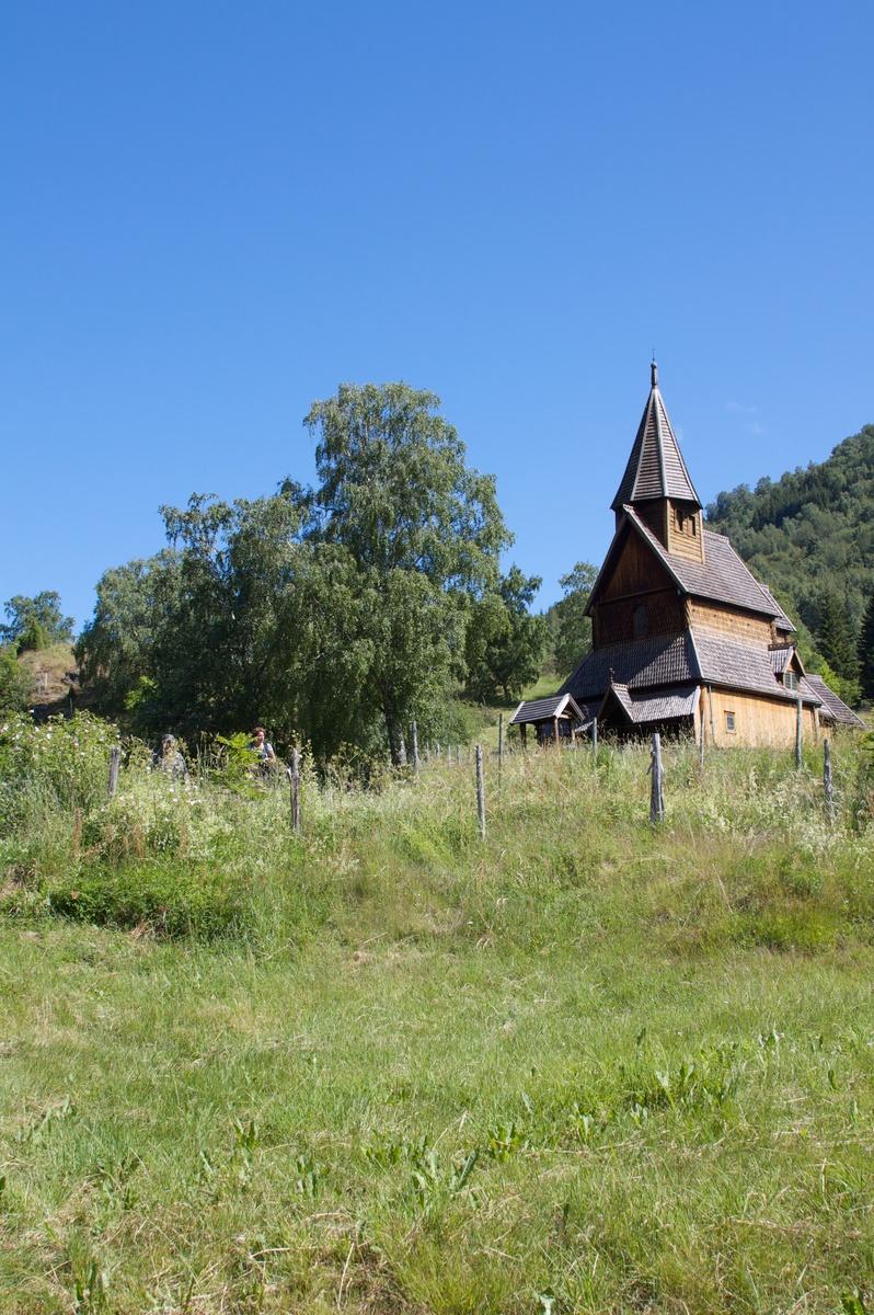 The viking church at Urnes