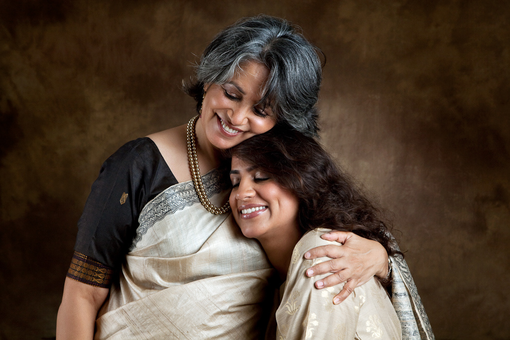 Gayatri Ghadiok and her daughter, Mrinalini.