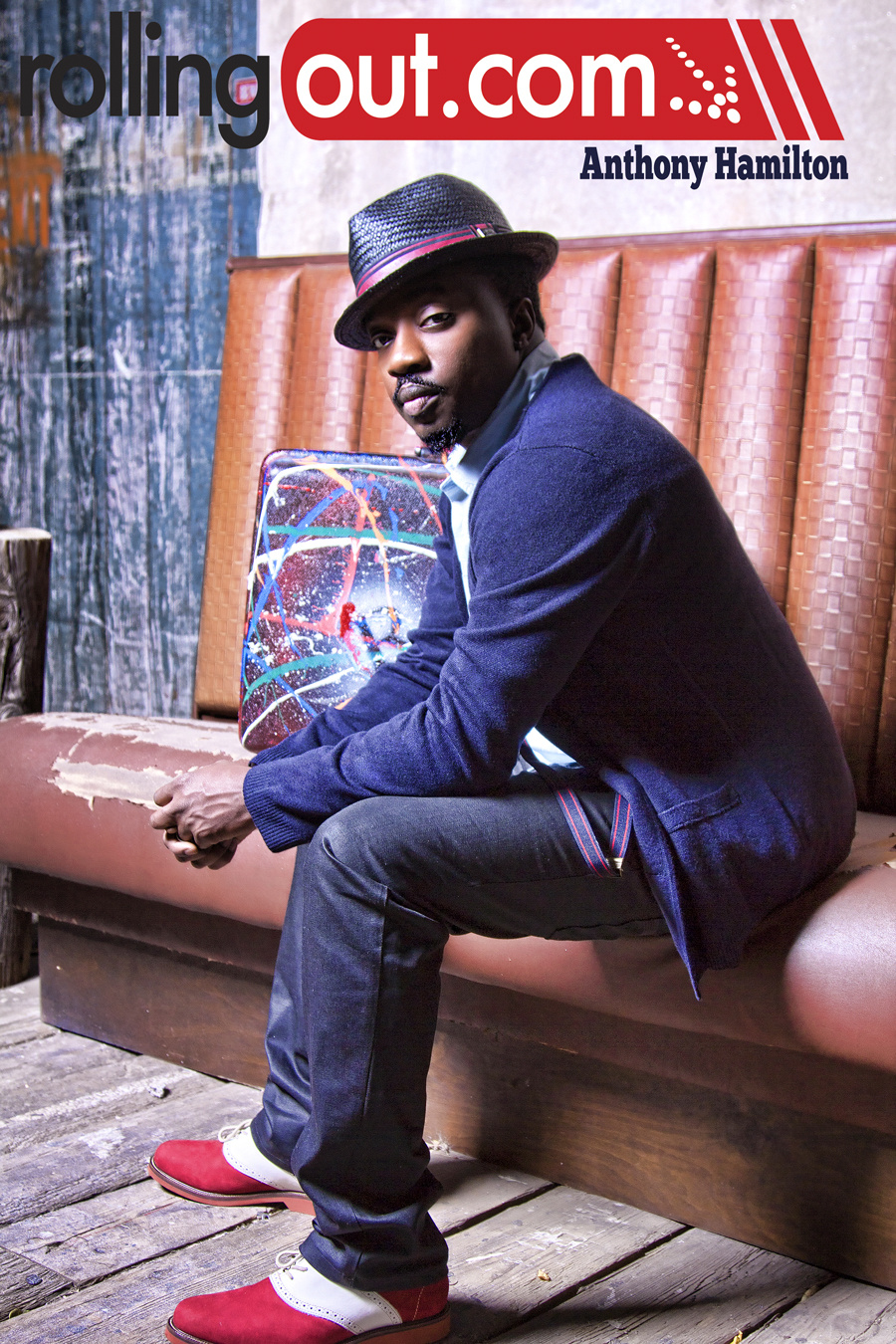 Anthony Hamilton- Rolling Out Magazine
