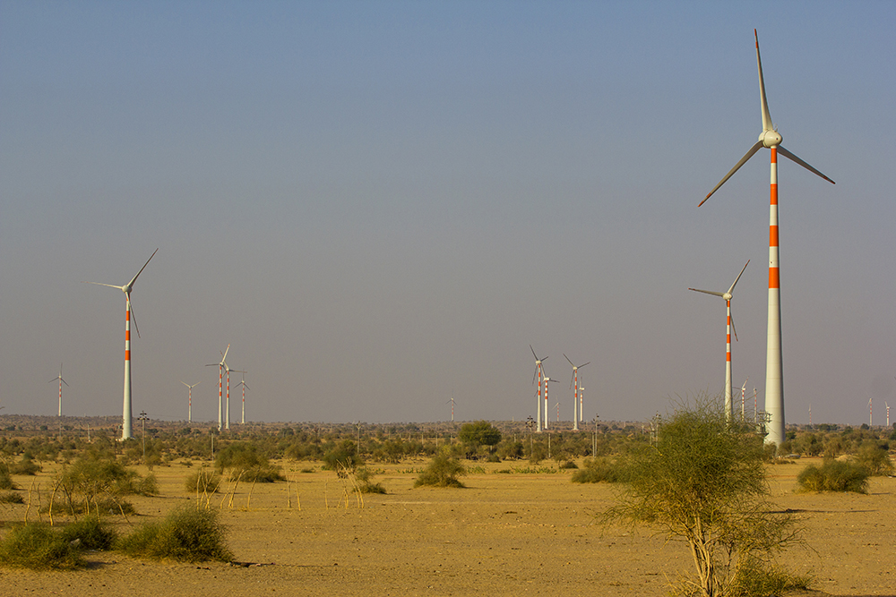 Wind mills in Jaisalmer