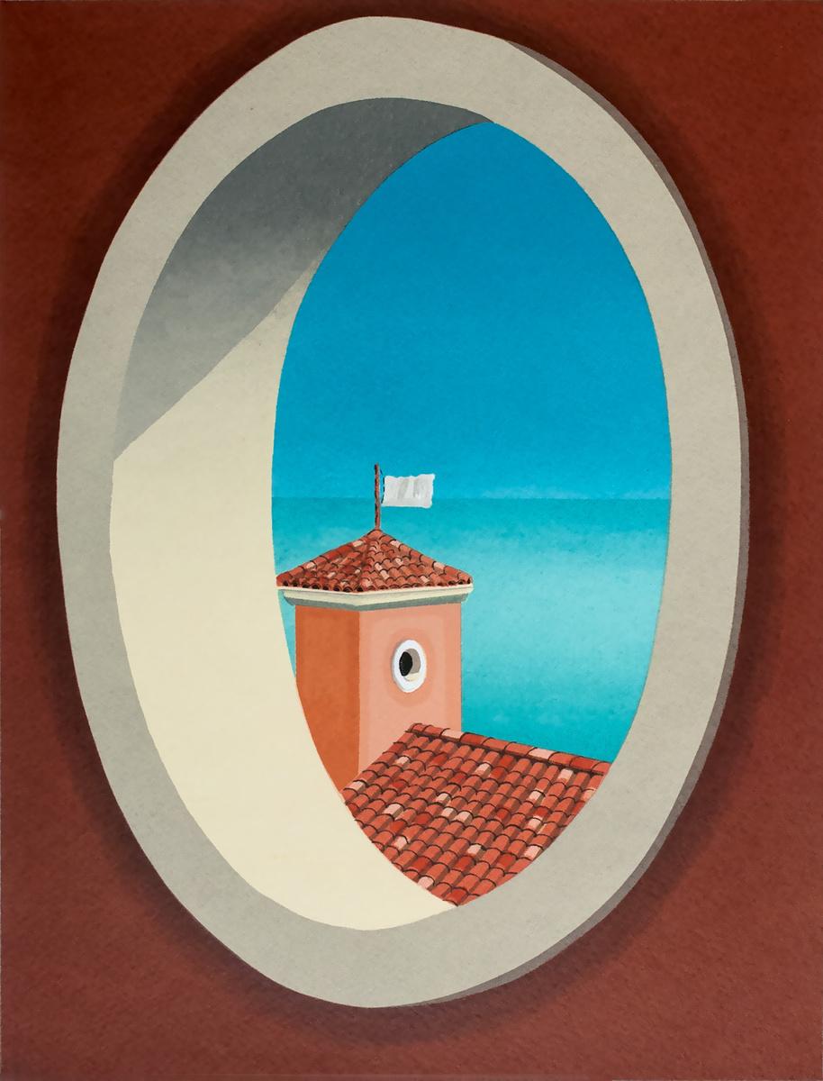SERIGRAPH--The Penitent Wind