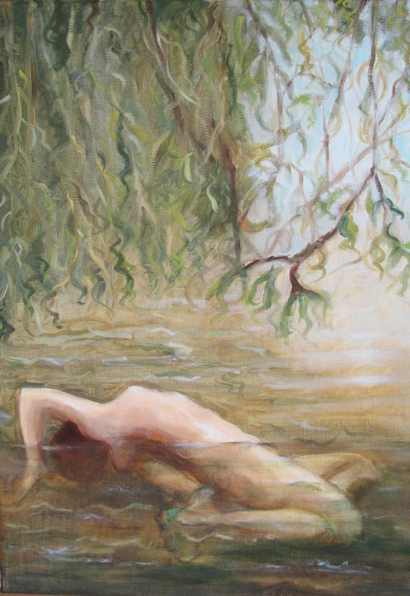 Undine oil on linen, 2014