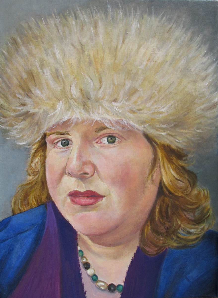Self portrait, Oil on linen, 2015