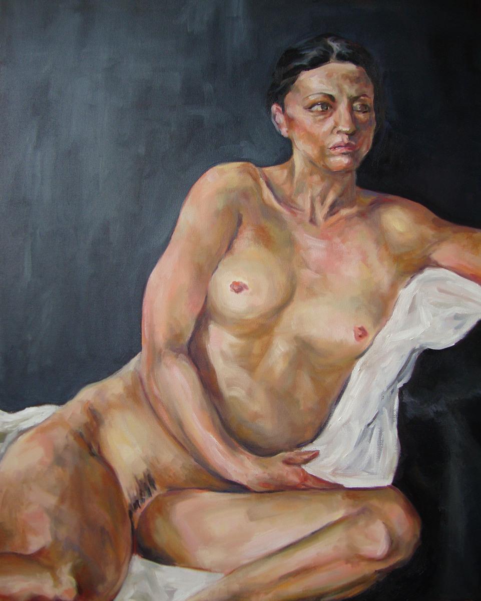 Scarlet. Oil on Canvas, 2012
