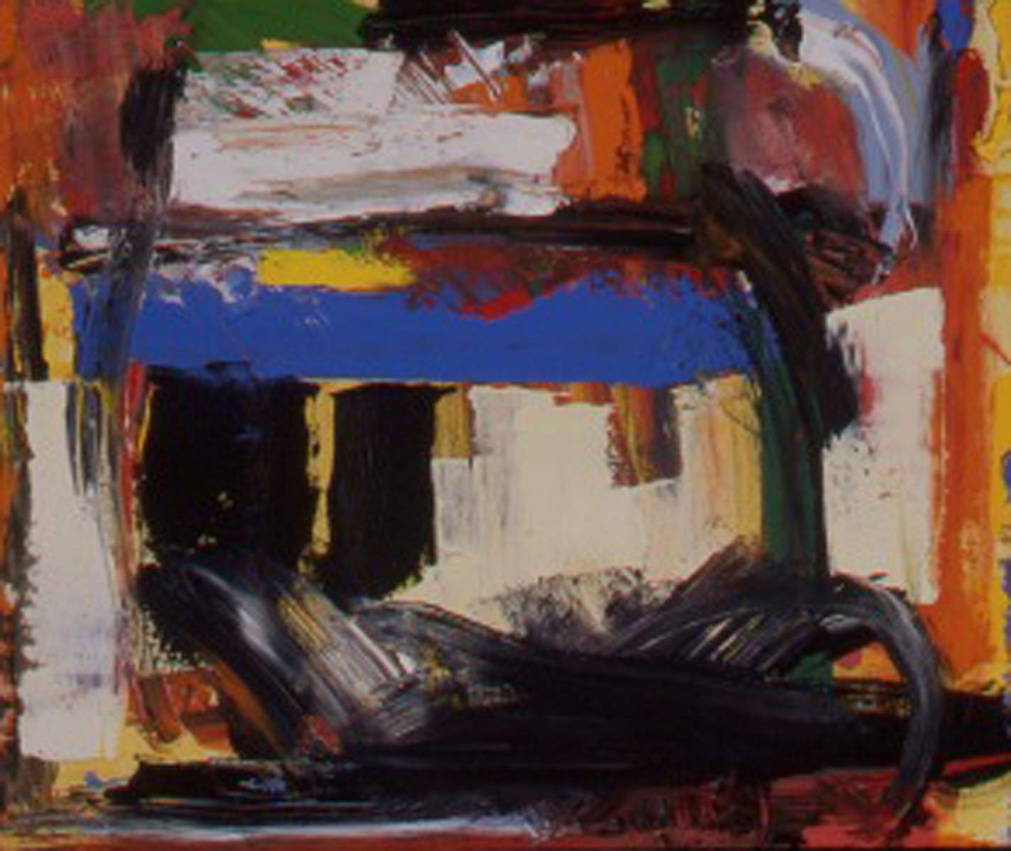 """Landscape 2, 30"""" X 24"""", Oil on Canvas, 2006, in Private Collection."""