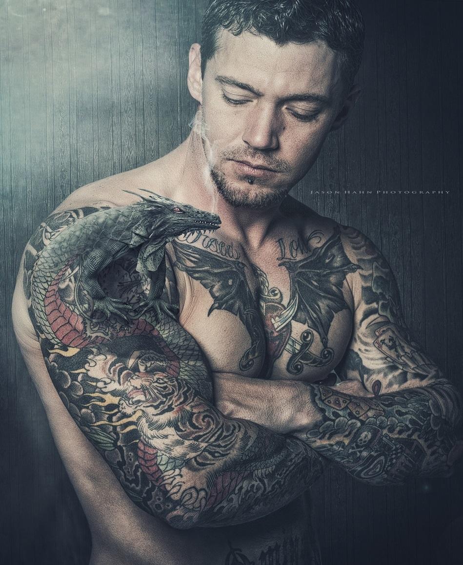 Dragon Keeper Model: Lance Jones