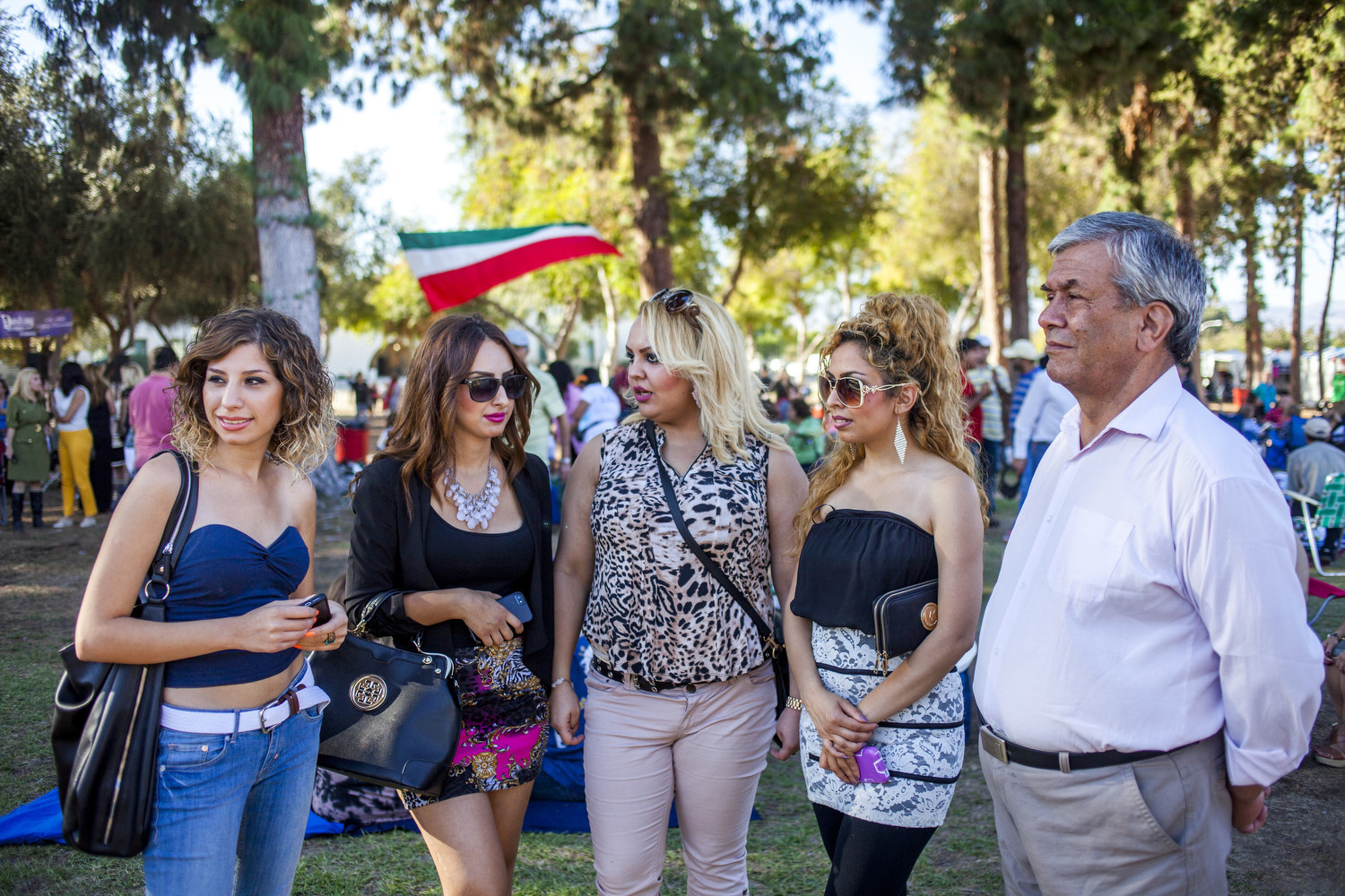 In Los Angeles, Iranian-Americans celebrate the fall festival of Mehregan, which honors friendship and love.