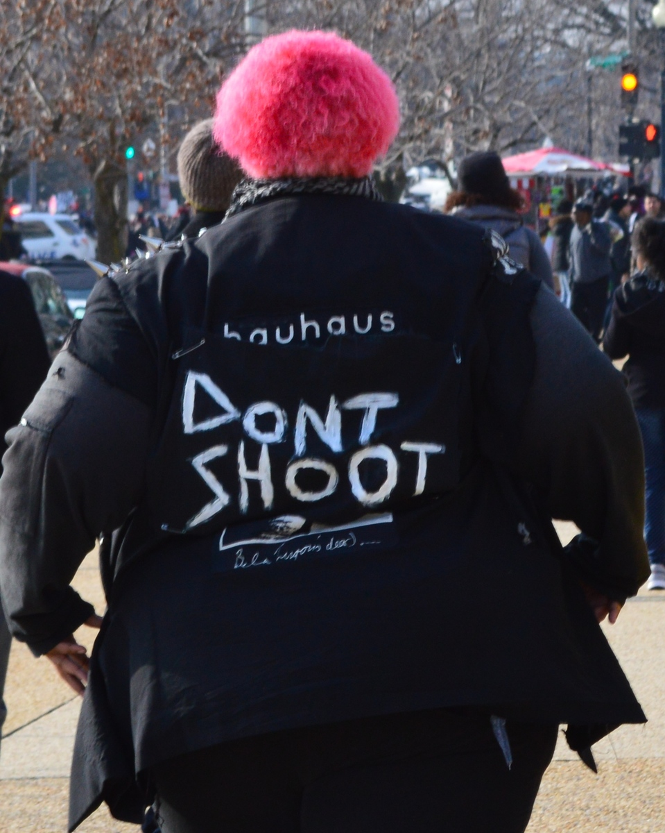 Don't Shoot Protest Jacket