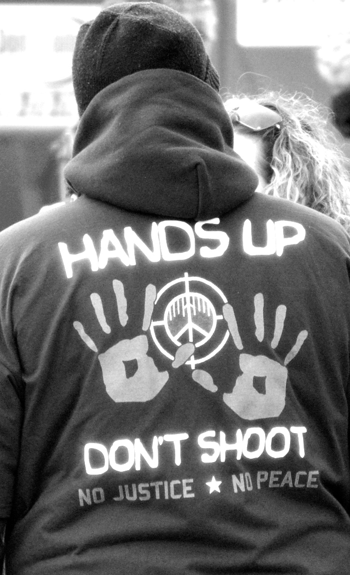 Hands Up! Don't Shoot!