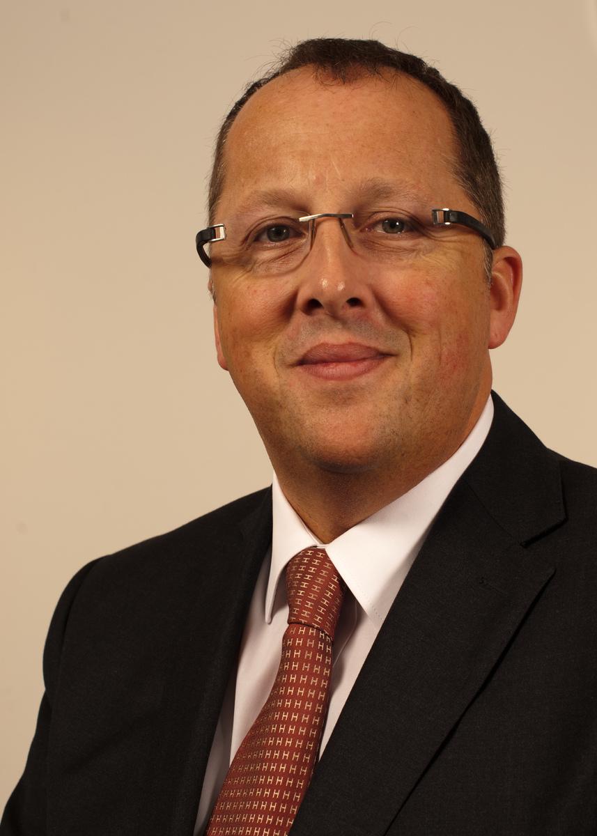 Portrait of executive, Bruce
