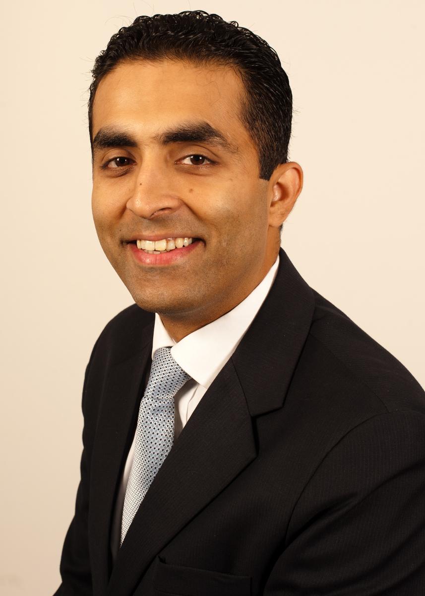 Portrait of executive