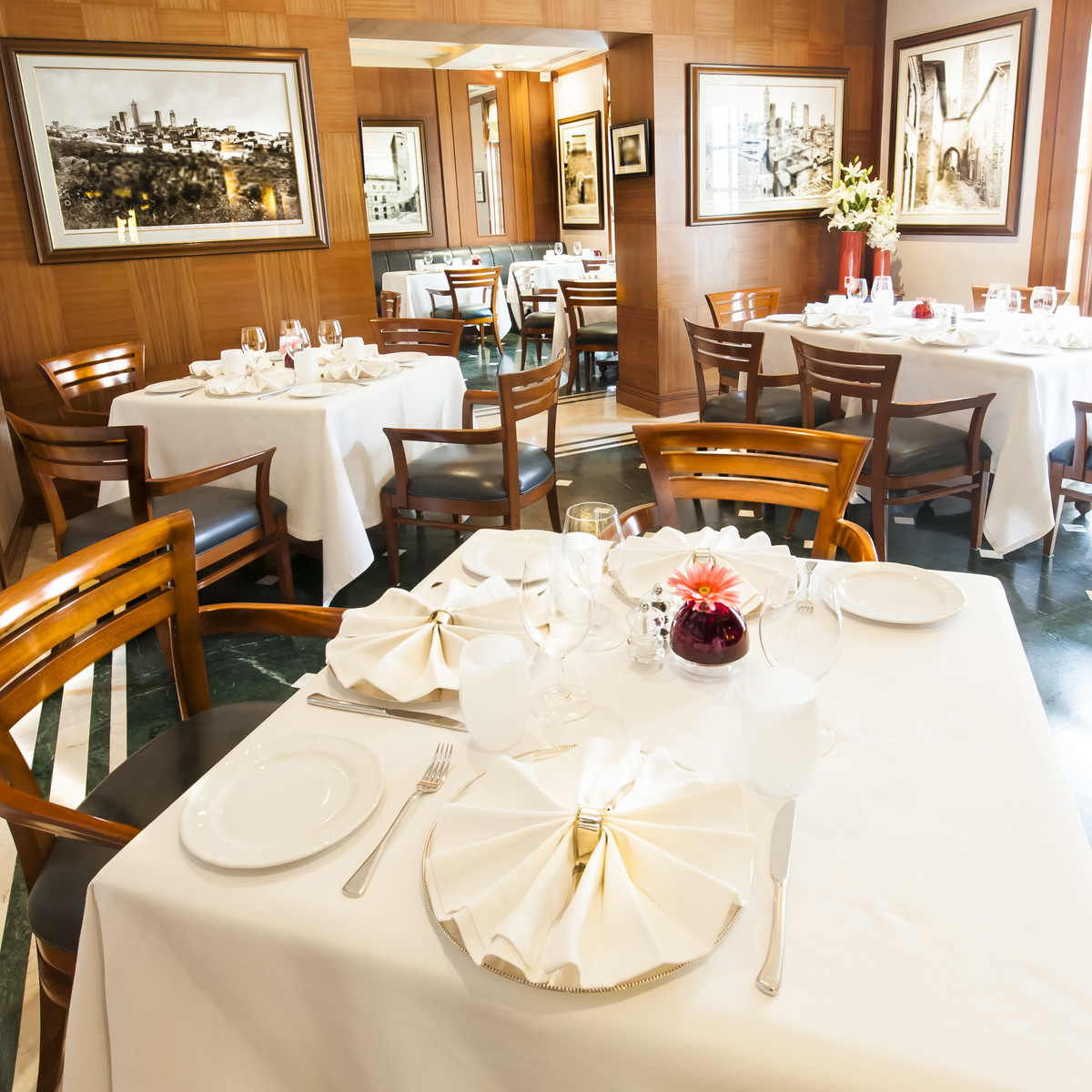 Italian Restaurant, Imperial Hotel, New Delhi