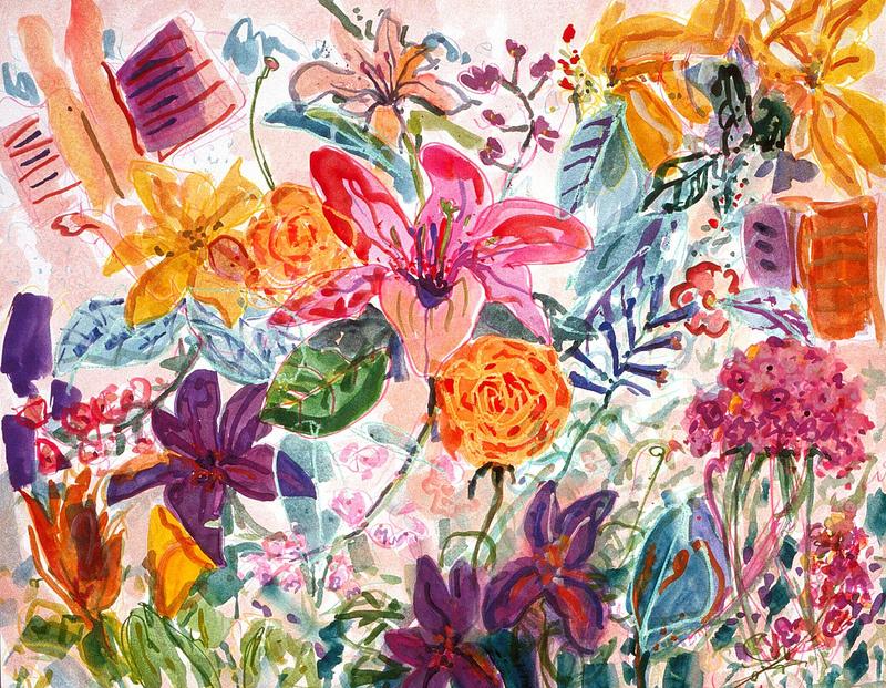 """""""Untitled (Pink Garden)"""" 1991"""