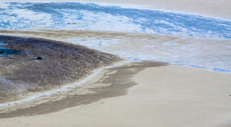 colourful sea, hebrides 2011