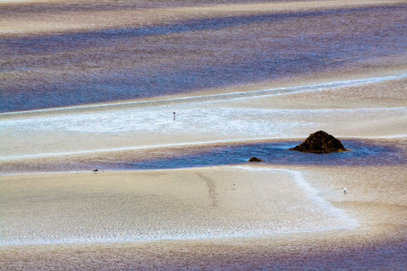 colourful sea, hebrides 2011