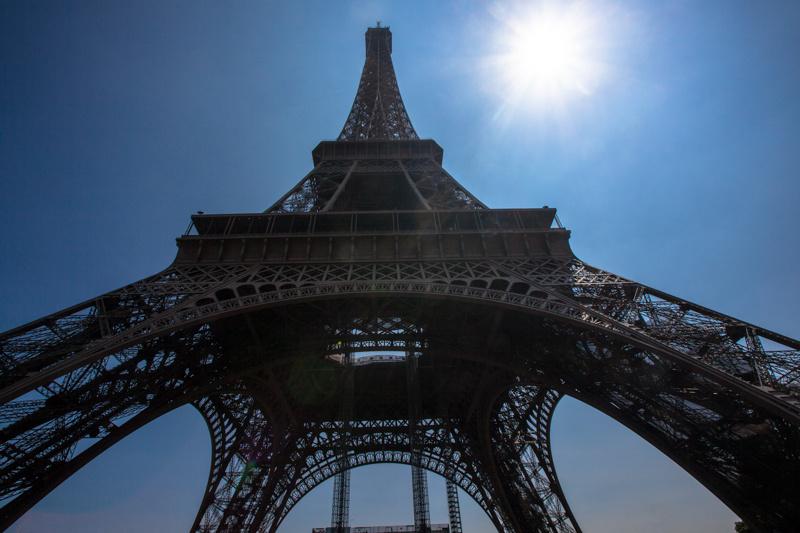 eiffel tower, paris 2013