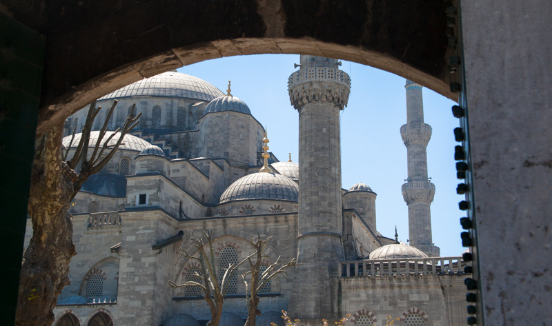blue mosque, istanbul 2012