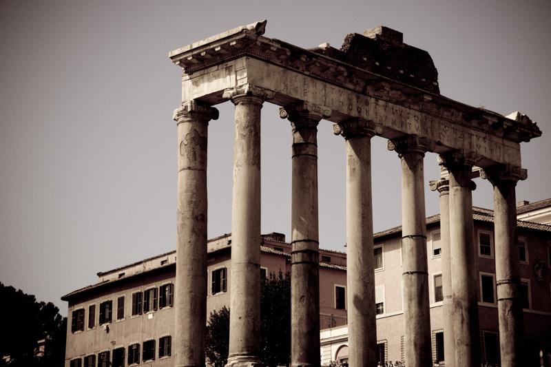 roman forum, rome 2012