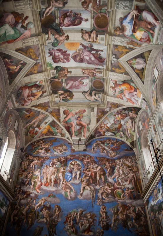 sistine chapel, vatican 2012