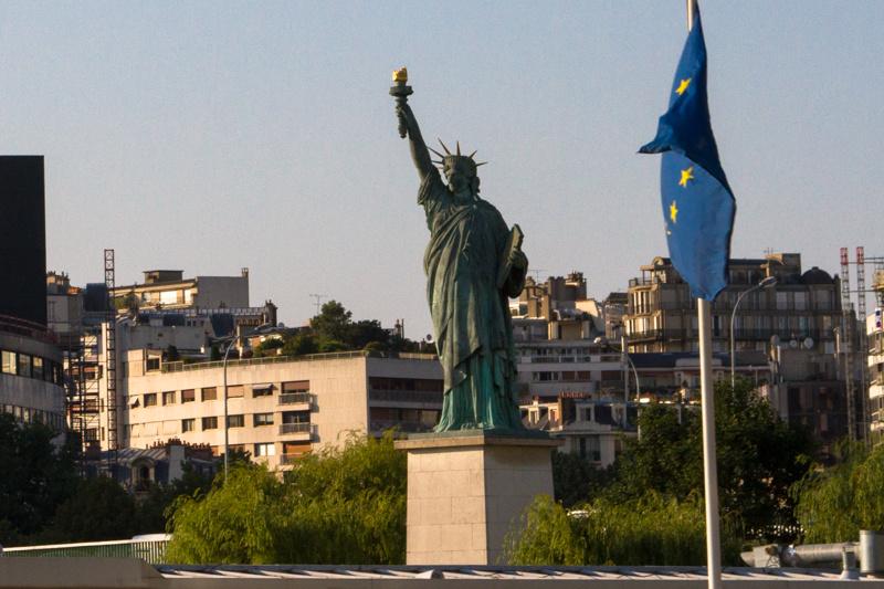 original statue of liberty, france 2013