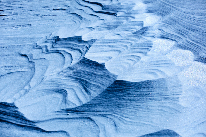 glacier patterns