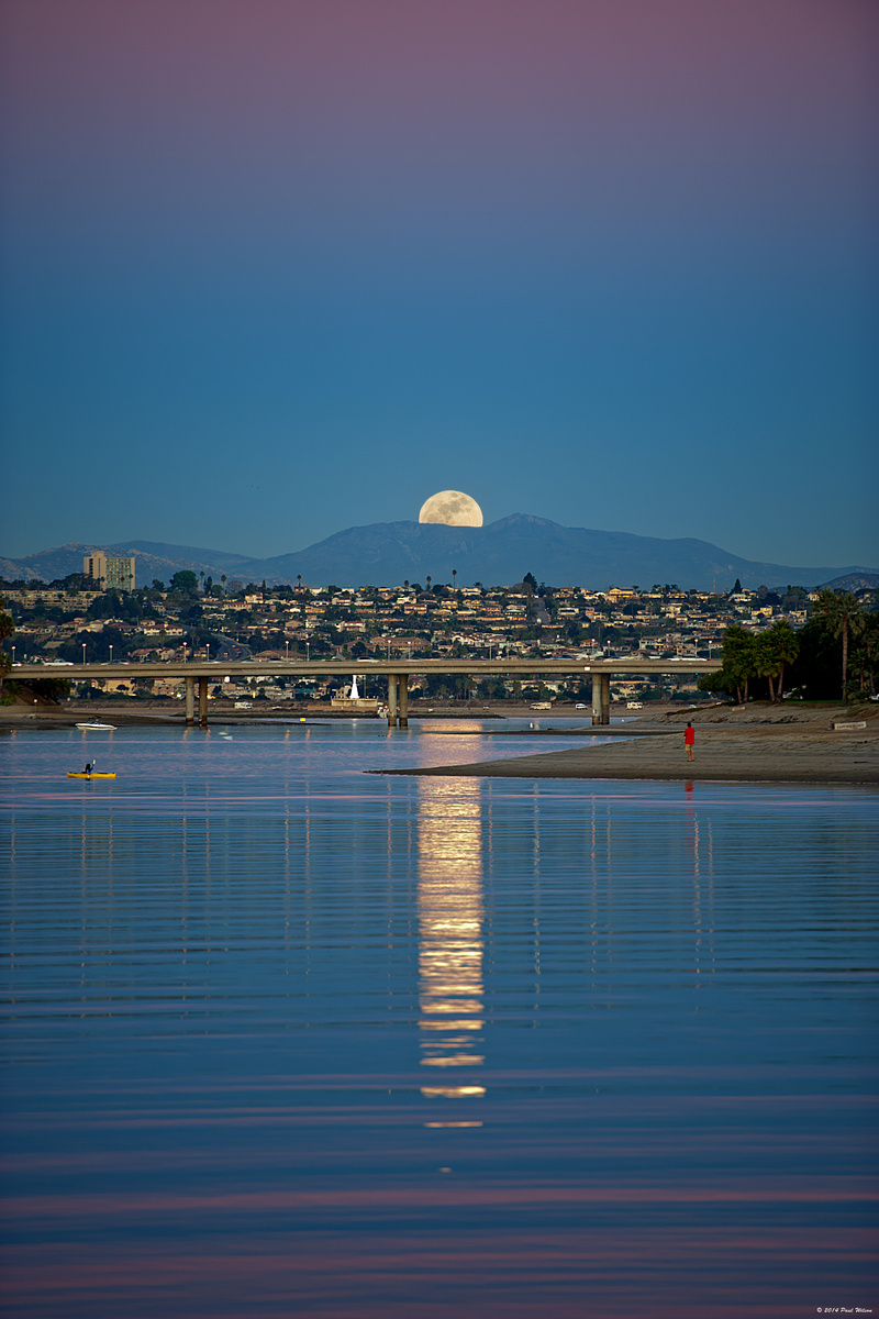 Mission Bay Moonrise