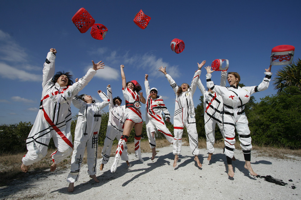 Astro-nuts Graduate in the Great Leap Forward