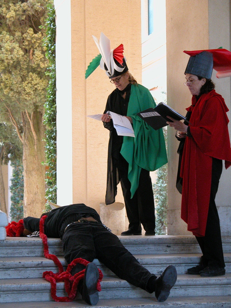 Julius Caesar: A Reading and Bleeding