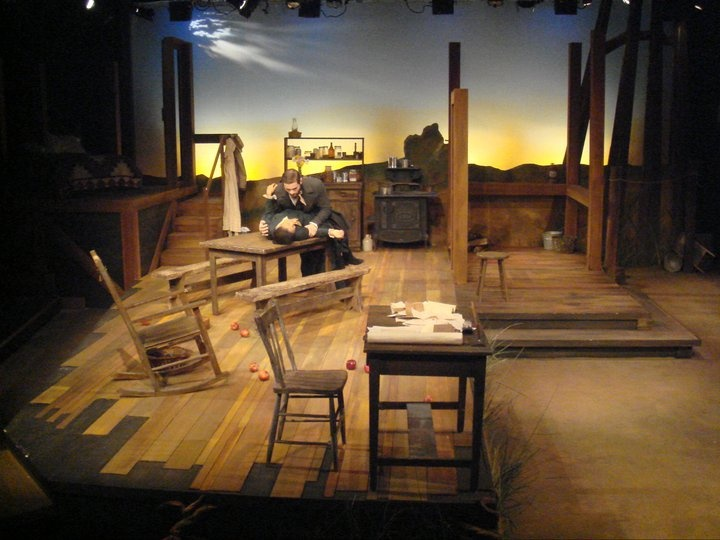 Flyin' West- Set Design