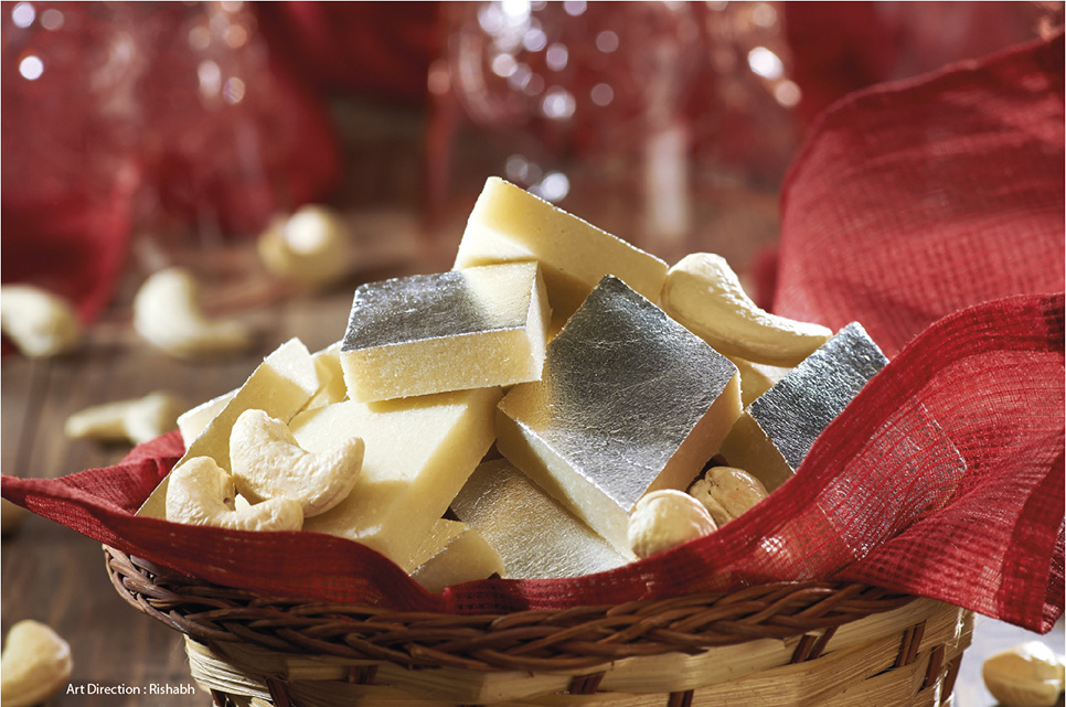 Kaju Burfi (Indian Sweets)