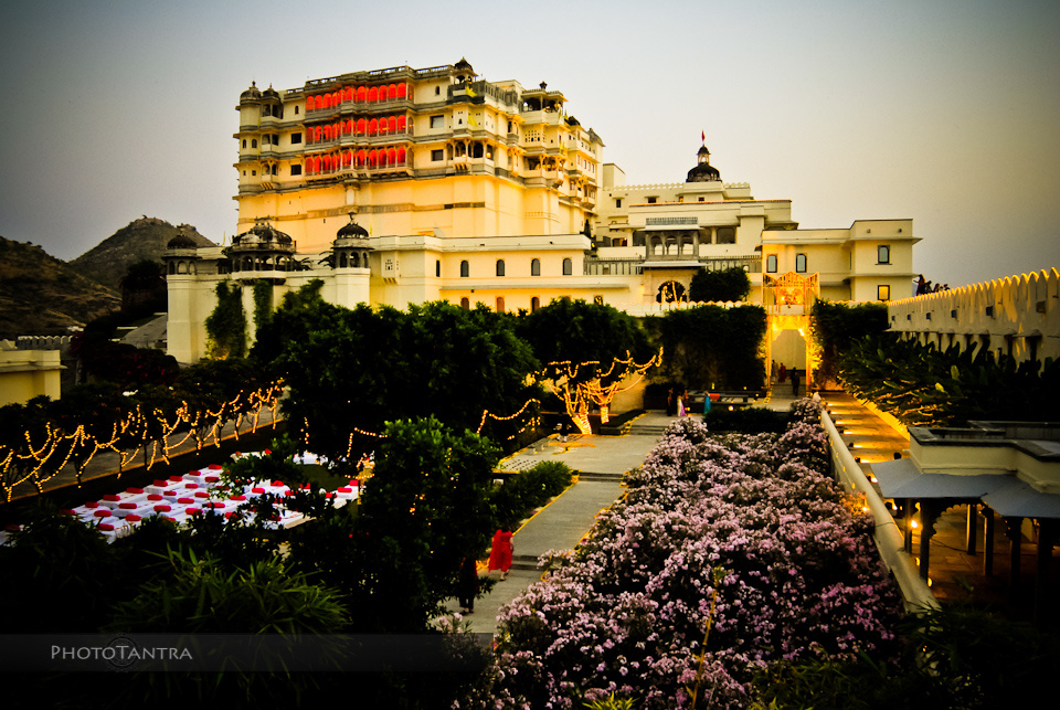 Destination Wedding in Udaipur: Aman and Eva - The Devi Garh Fort