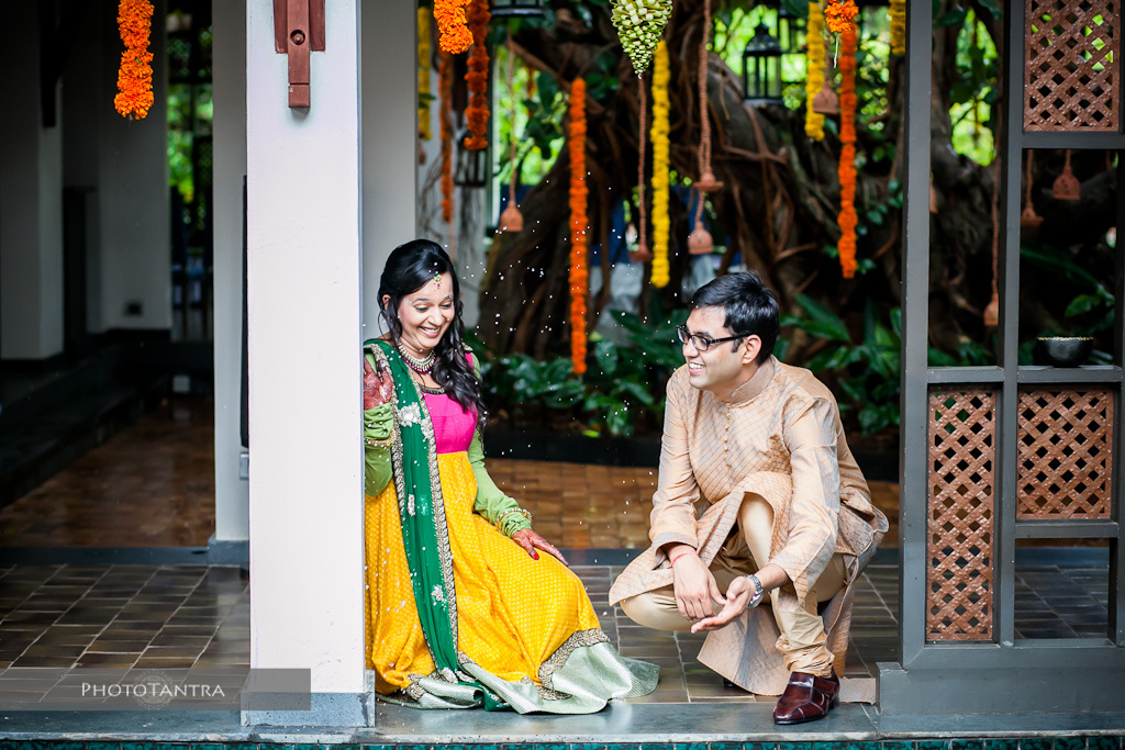 Destination Wedding in Goa: Isha and Ashis at Aliwa Diwa, Goa