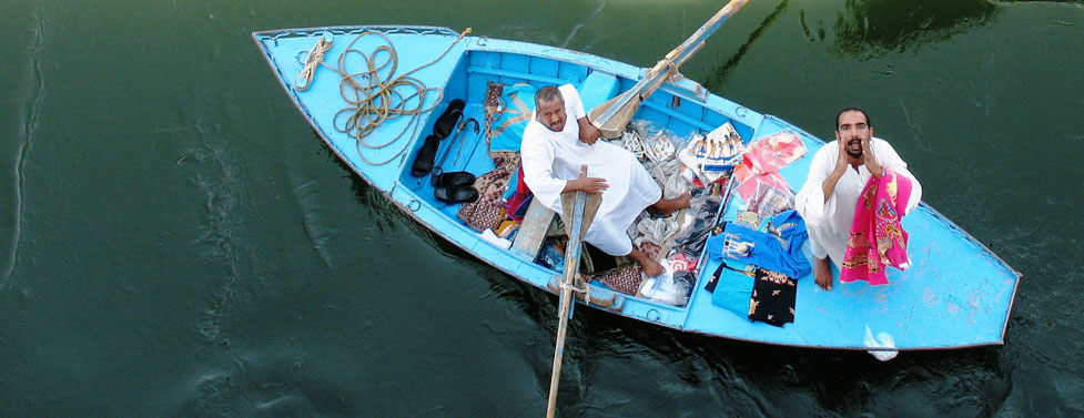 Blues along the Nile....and history at every corner