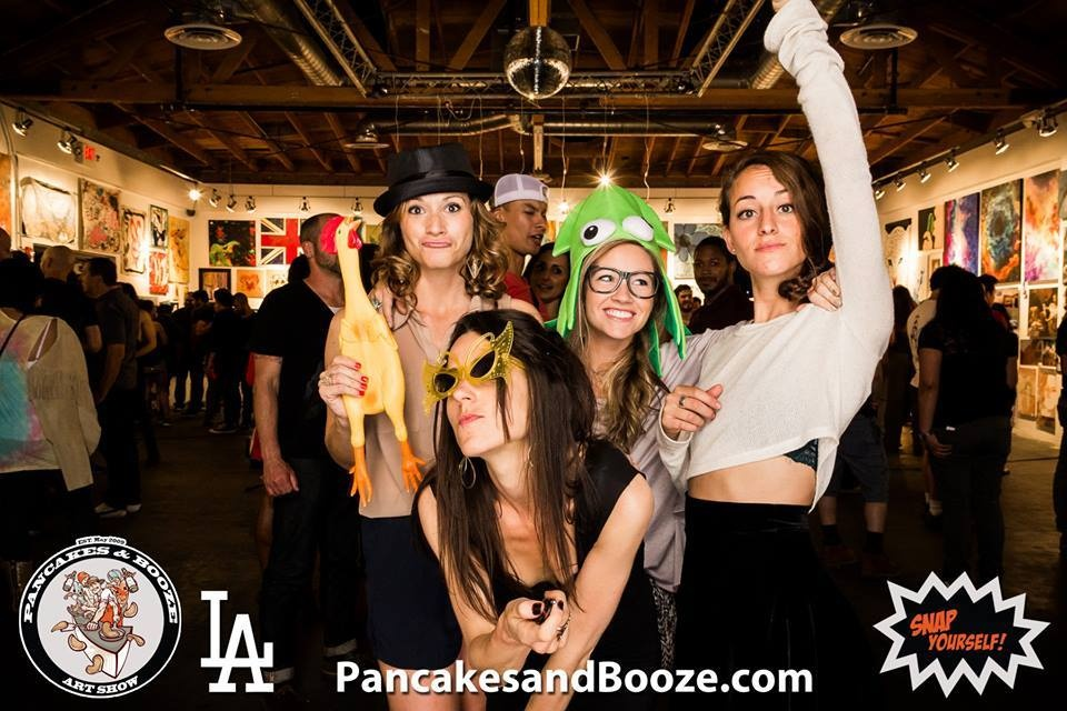 the pancakes and booze art show - los angeles 2013 - 2014