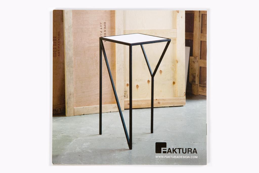 Faktura Design, product catalog 2010
