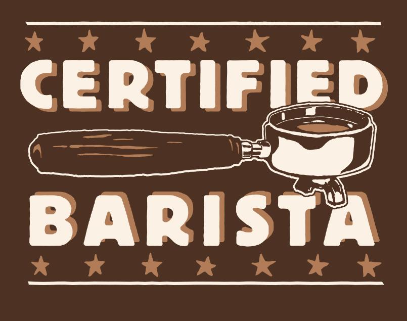 Certified Barista
