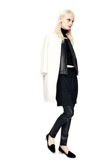 White Topper Coat